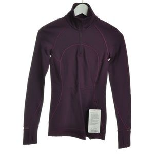 NEW LULULEMOM  Athletic Jackets Full Zip Up Purple